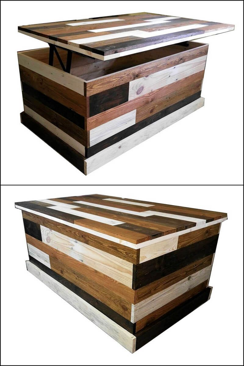 Creative Pallet Ideas That Are Easy To Make   Wood pallets ...