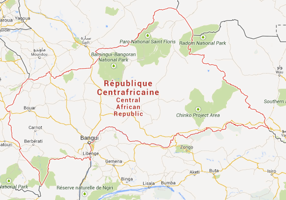 Central African Republic CAR Is Located In The Continent Of - What continent is sudan in