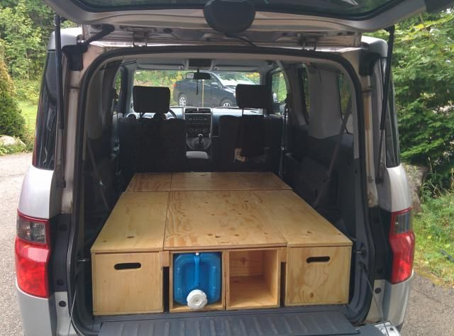 Love This Another Camping Setup Honda Element Camping