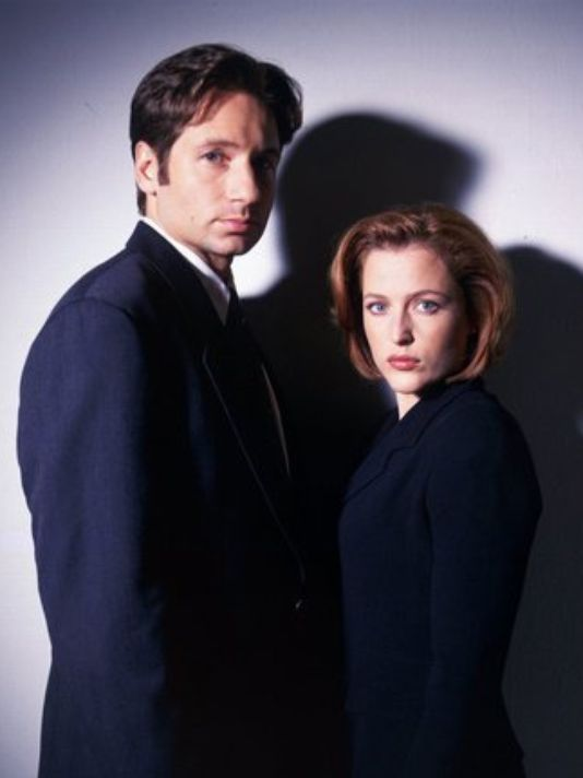 'X-Files' Mulder and Scully