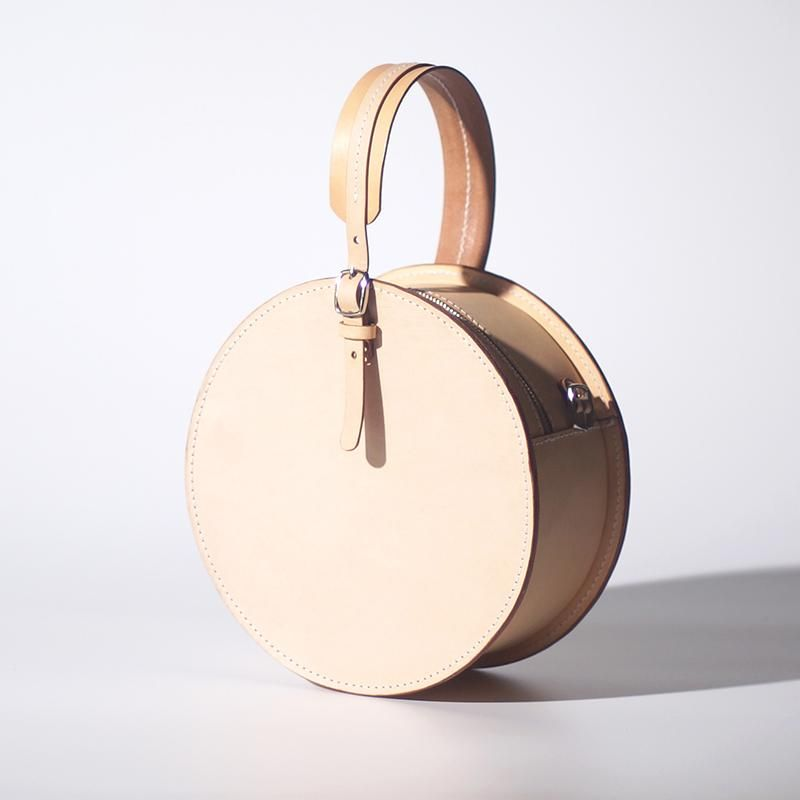 Circle Clutch Bag Round Shaped Purses Small Round Bag #bag