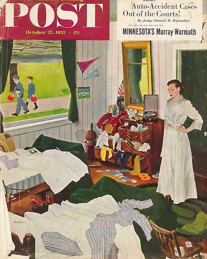 The Saturday Evening Post October 22 1955 George Hughes