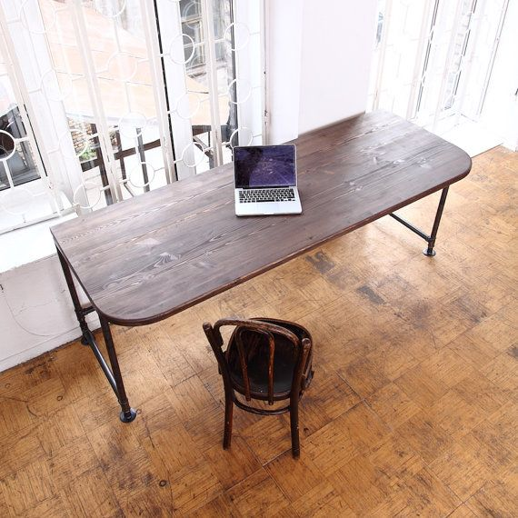 Industrial Office Desk By Cosywooduk On Etsy