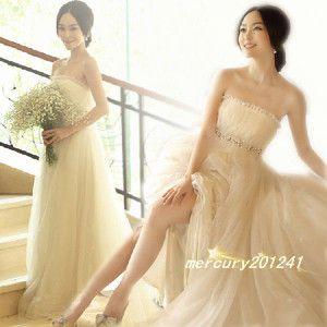8597e5e85e5f9 人気結婚式花嫁ウェディングドレス 結婚式 披露宴 二次会 手作り ウエディング