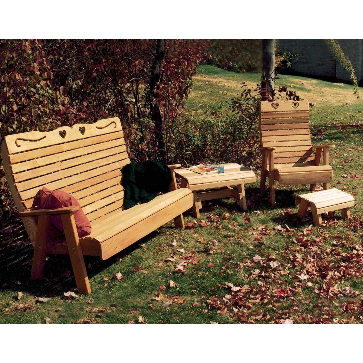 Creekvine Designs Cedar Royal Outdoor Patio Set