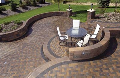 17 best images about patio ideas on pinterest fire pits wall lighting and patio ideas - Paver Patio Design Ideas