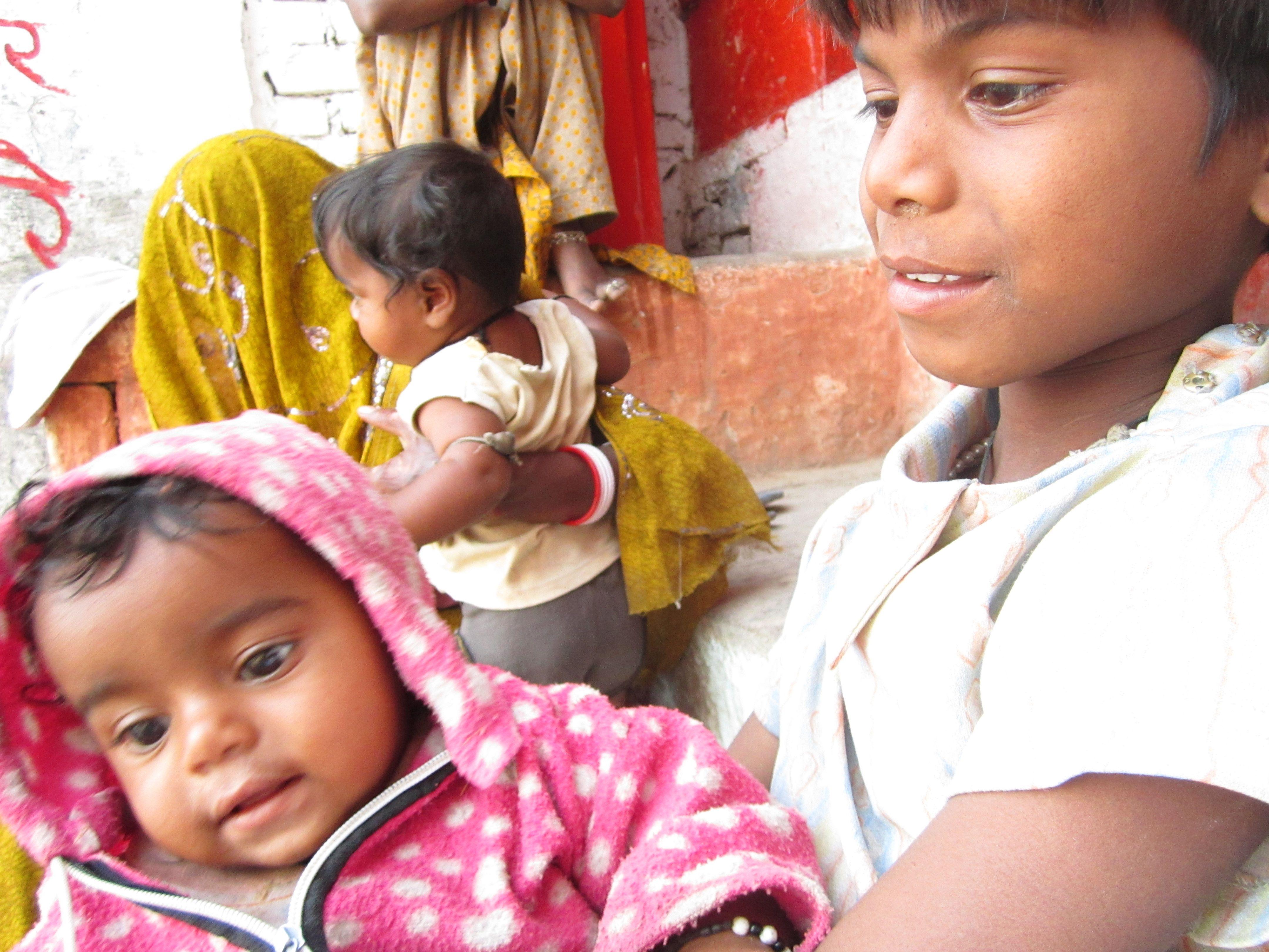 Bambini Indiani ~ I bambini di varanasi india luoghi da visitare