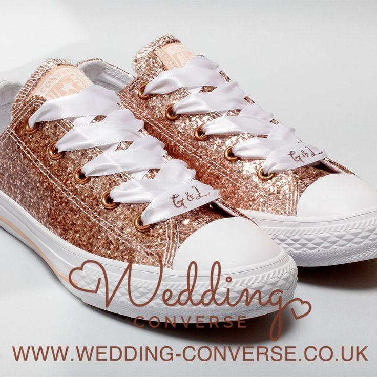 Unique Bride & Groom Custom Converse Wedding Converse