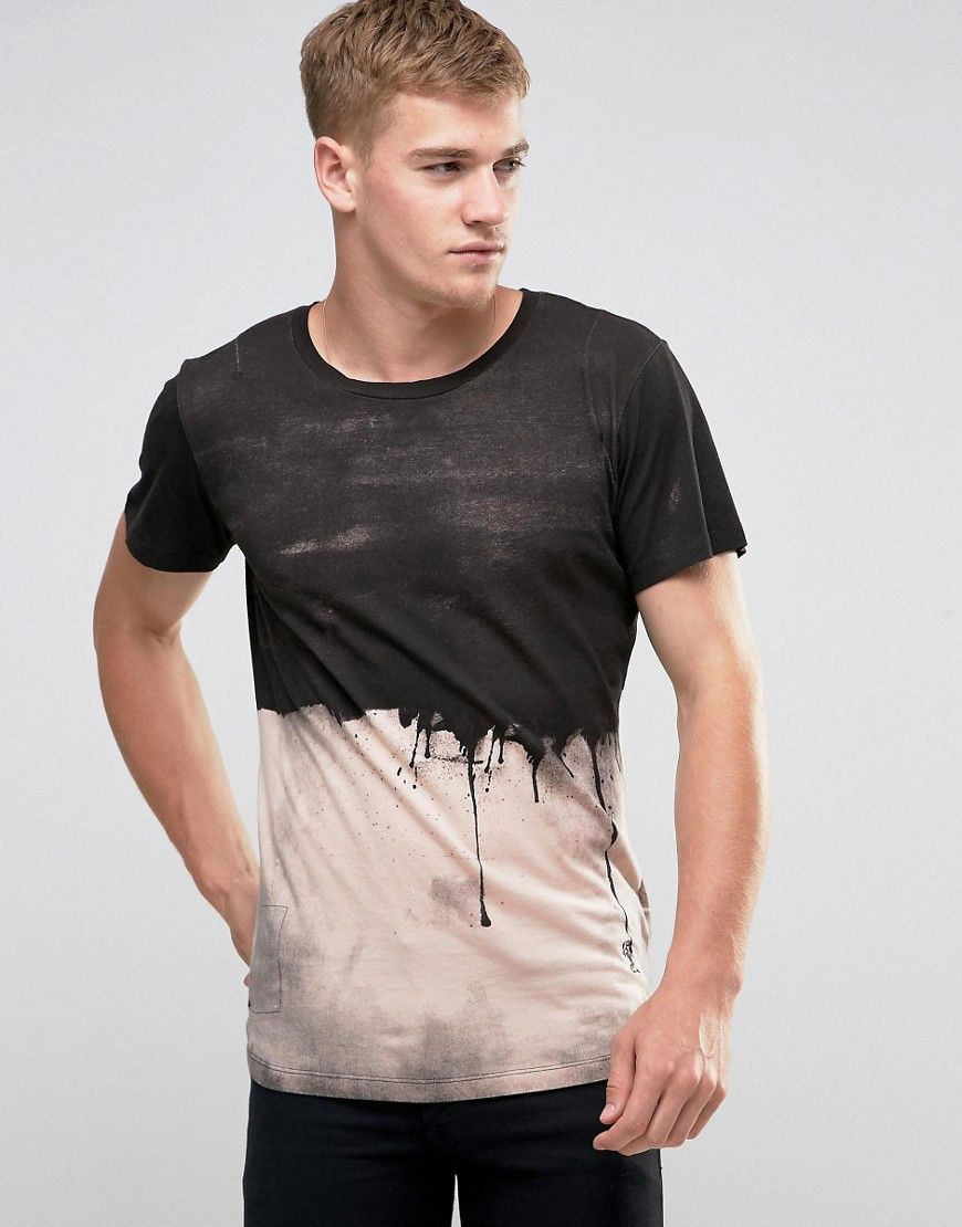 Image 1 of Religion T-Shirt With Paint Dripping Print