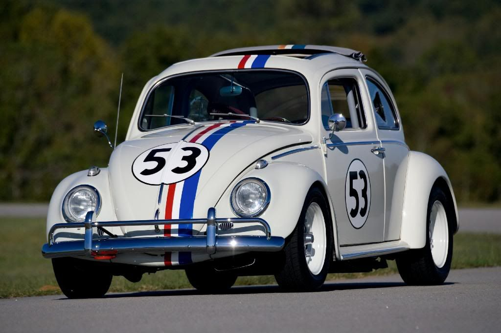 Volkswagen Honors Herbie The Love Bug With Beetle 53 Edition