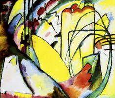 Wassily Kandinsky.  Improvisación 10, 1910