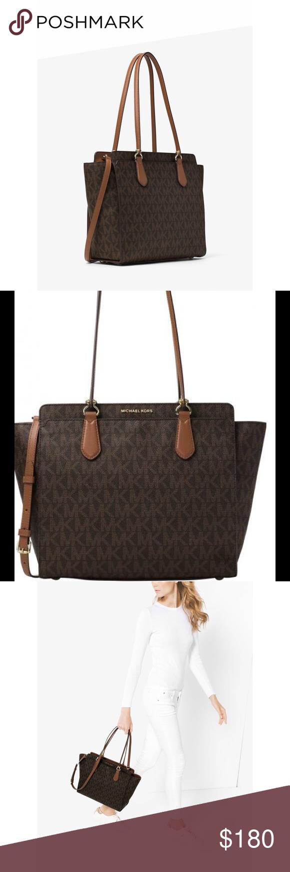 3c627d768e6d Michael Kors Dee Dee Large Convertible Logo Tote Meet your new MVP (most  versatile purse