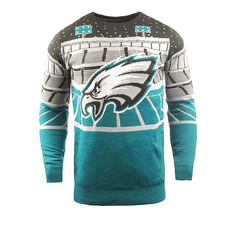67aa50d5324 Officially Licensed NFL 2018 Bluetooth Light-Up Sweater by Team Beans -  Eagles