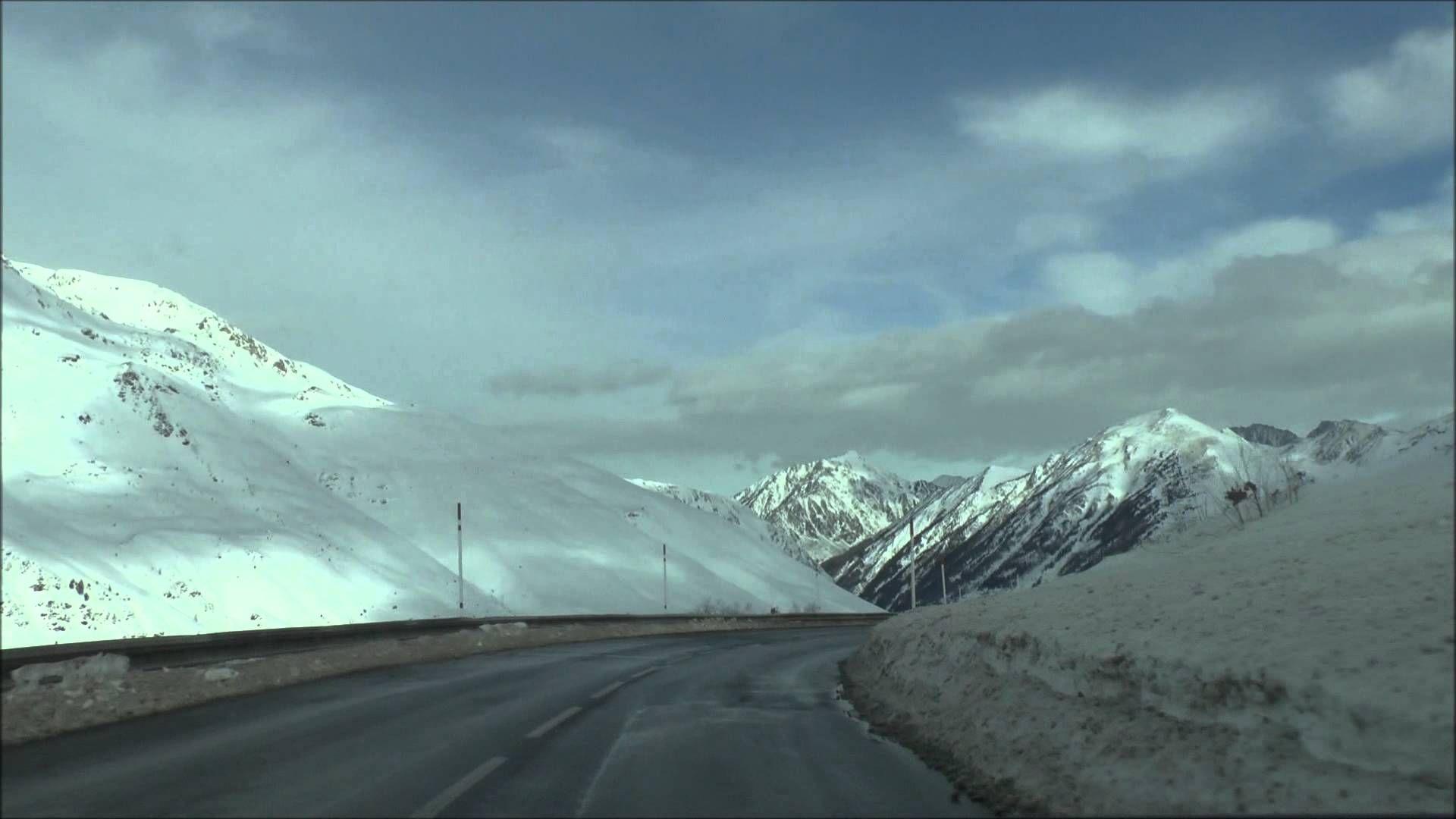 Em Andorra, chegando na Fronteira com a França