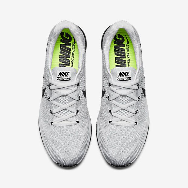 Nike Flyknit Lunar 3 Wolf Grey Nike Flyknit Lunar 3 Nike Flyknit Running Shoes For Men