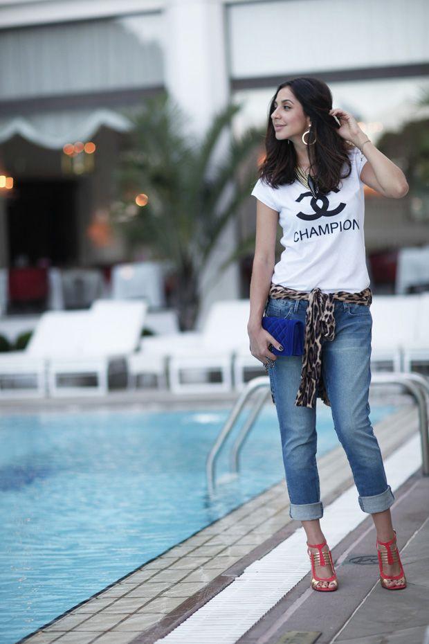 6a4318bdc Muitas leitoras já me perguntaram sobre a Calça Jeans Dobrada na barra! As  mulheres mais modernas e as mais fashionistas já investiram nessa tendência  e a ...