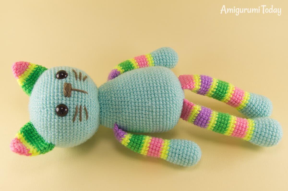 Hoe kun je een knuffel konijntje of koalabeertje (Amigurumi) haken ... | 797x1200