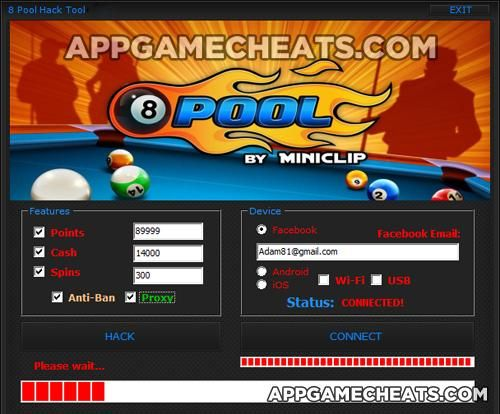 8 Ball Pool Hack For Cash Points And Spins Ios And Android