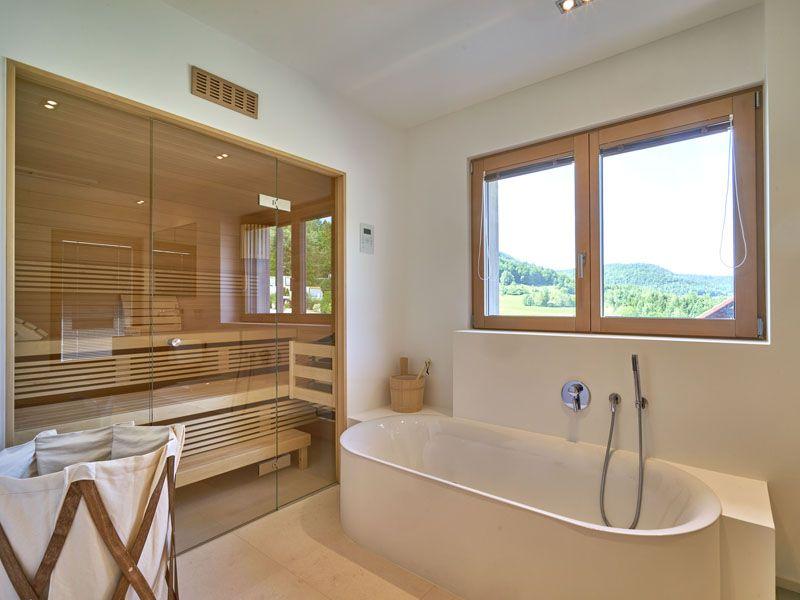 Sonnleitner Haus Kornfeld Bautipps De Badezimmer Mit Sauna Badezimmer Gestalten Badezimmer Dekor