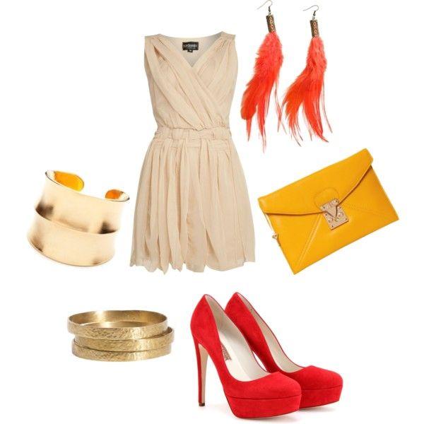 Red & Gold ... It's fun (: