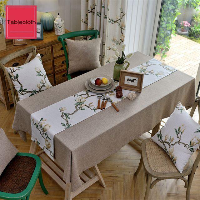 faf43c06ec73 Tampas Da Cadeira Rodada Floral de Linho toalha de mesa Para O Casamento de  Lantejoulas Toalha De Mesa Redonda Toalha de Praia Bordado Toalha de mesa  ...