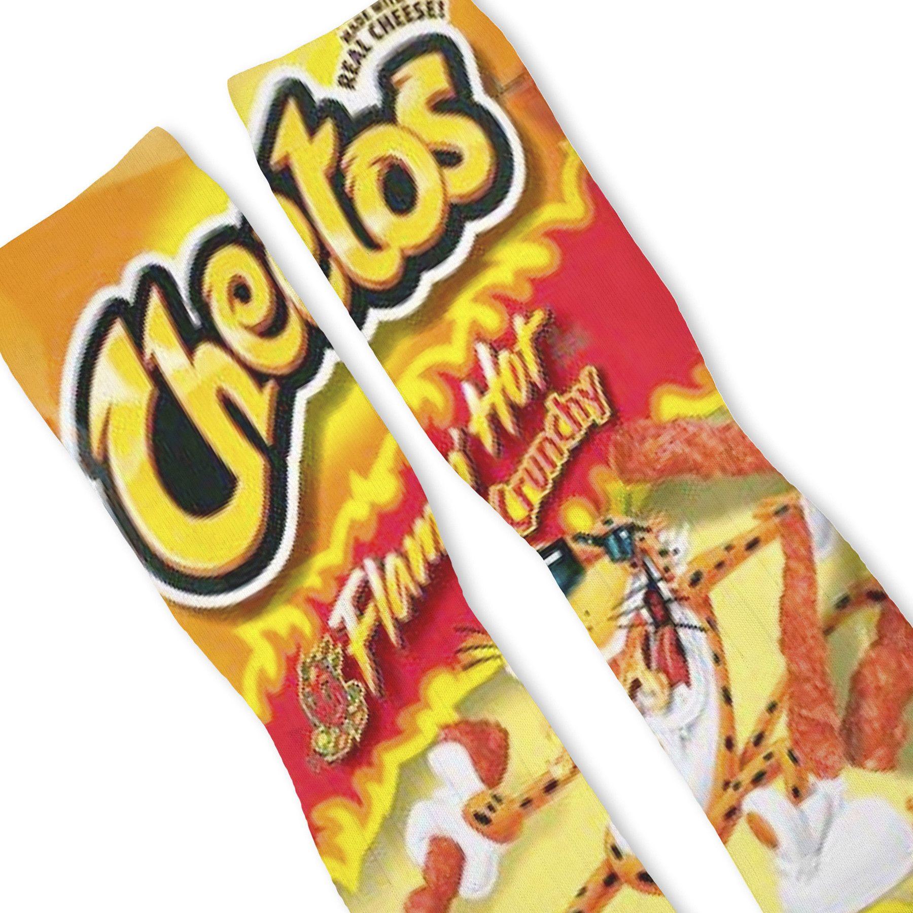 Hot Cheetos Custom Athletic Fresh Socks Clothes Pinterest