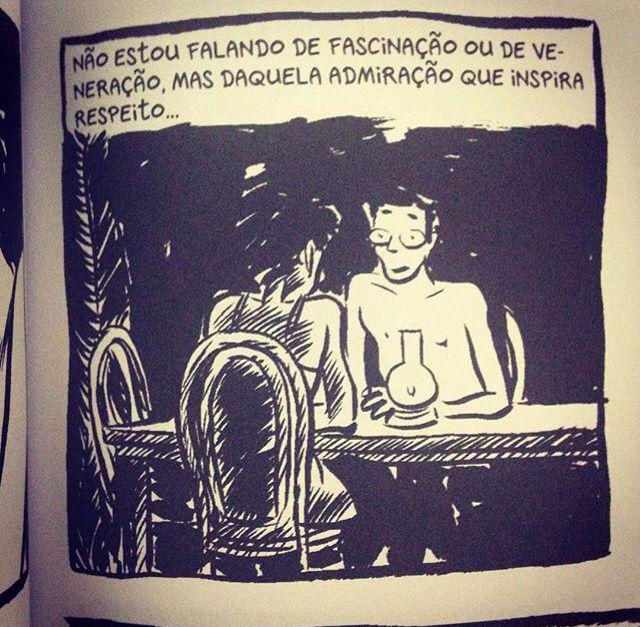 """História em quadrinhos • Amor escancarado e mulher forte nas páginas da graphic novel """"Pílulas Azuis"""", de Frederik Peeters."""