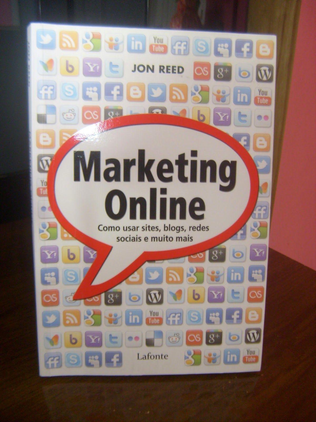 """Tudo que Amo By ludemila: Resenha quer ter sucesso no seu Blog? Que tal ler o """"Livro Marketing Online"""""""