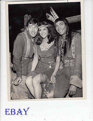 Fess Parker Ed Ames Brenda Benet VINTAGE Photo Daniel Boone EP: The Matchmaker