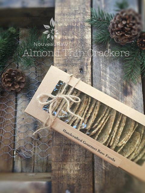 Almond Thin Crackers (raw, vegan, gluten-free)