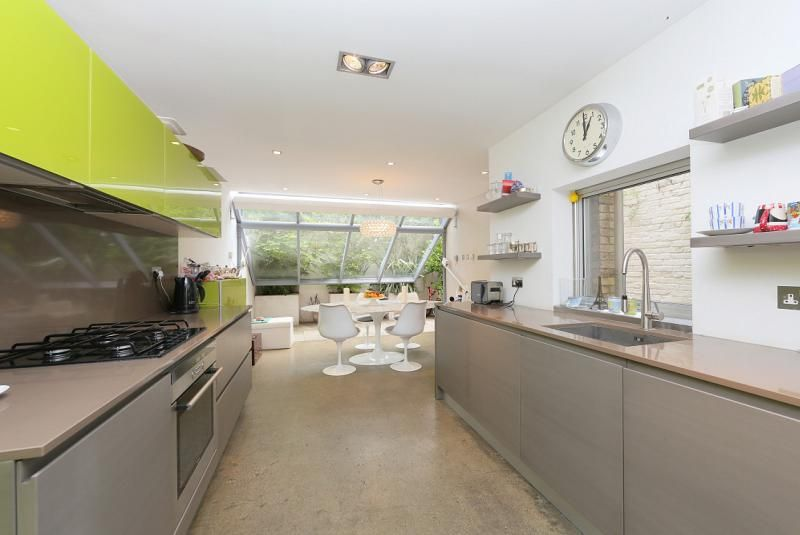 Really DONT Like This Polished Concrete Floor And Grey Kitchen Units - Grey kitchen units sale