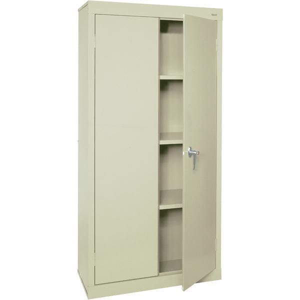 Locking Steel Cabinet Freestanding Storage Cabinet Metal Storage Cabinets Storage Cabinet