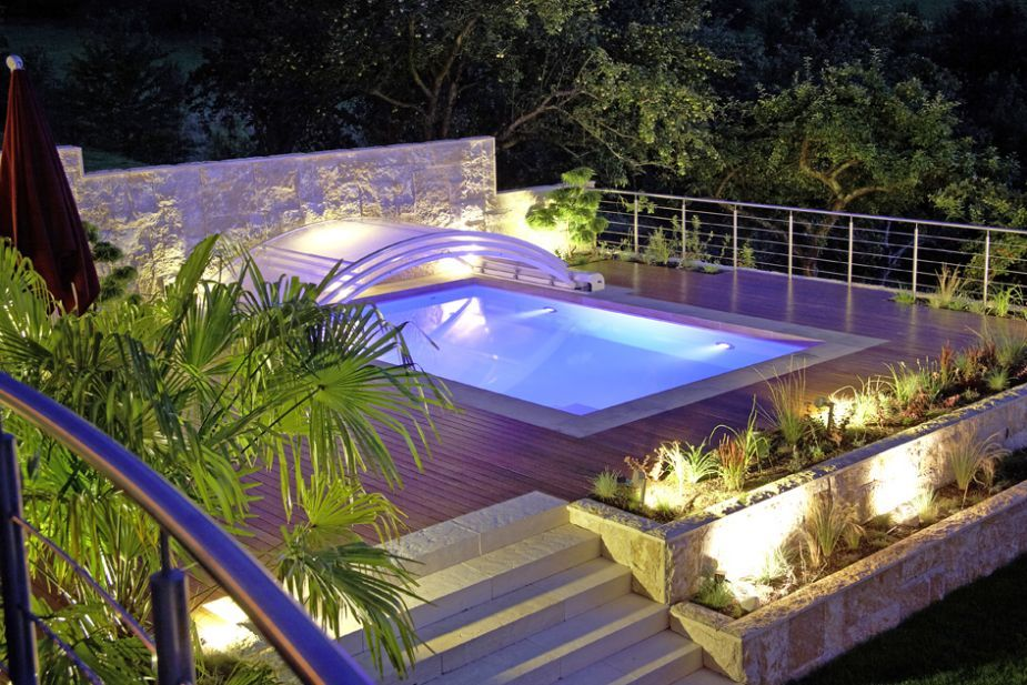 New Swimming Pool in Hanglage Terramanus Landschaftsarchitektur