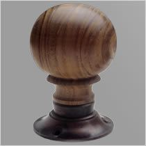 Round Wood Turning Door Knob, Chloe Alberry   Stuff my husband is ...