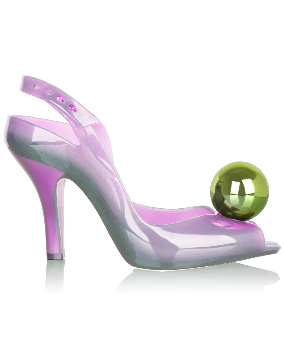 Vivienne Westwood Melissa Lady Dragon Ball Pink replica,fake Vivienne Westwood Shoes