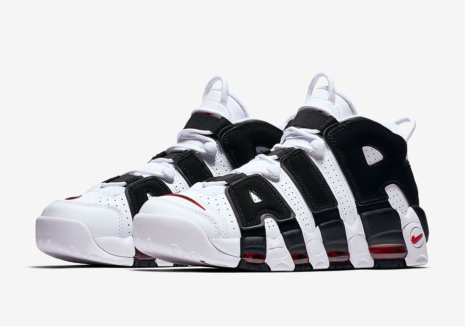 purchase cheap 3f1b7 390ea  sneakers  news More Chicago Bulls Themes Hit The Nike Air More Uptempo