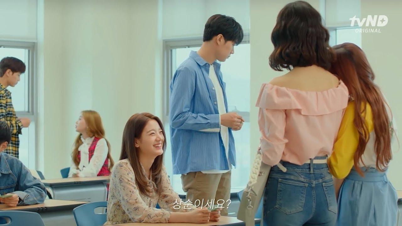 الحلقة 13 من المسلسل الكوري الرومانسي صف المواعدة Ruffle Blouse Women Ruffled