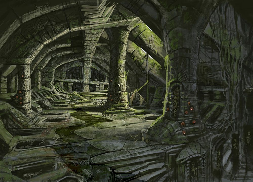 art sundragon83 battle ruins - photo #32