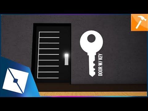 Roblox Studio Door W Key Youtube Roblox Tutorial Doors