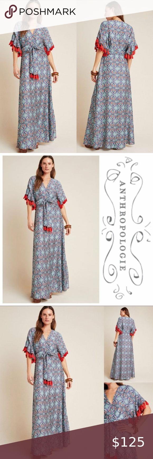 30+ Anthropologie tasseled maxi dress ideas