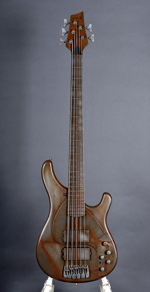 Sandbergs I Can T Even Love This Rust Style Finish Bass Guitar Guitar Cool Guitar