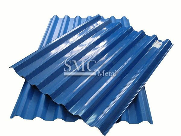 Standard size of gi sheet roofing philippines smc for Onduline per tettoie