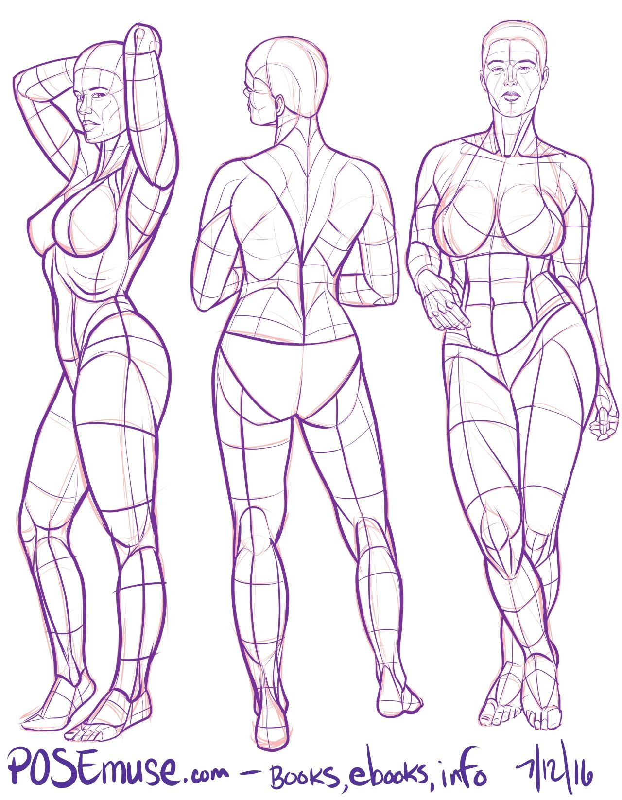 POSEmuse | Art References in 2019 | Figure drawing models