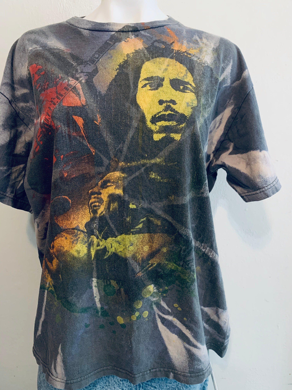 Bob Marley Upcycled Retro Cropped Distressed Crewneck Shirt Etsy Crew Neck Shirt Crew Neck Vintage Crewnecks [ 3000 x 2250 Pixel ]