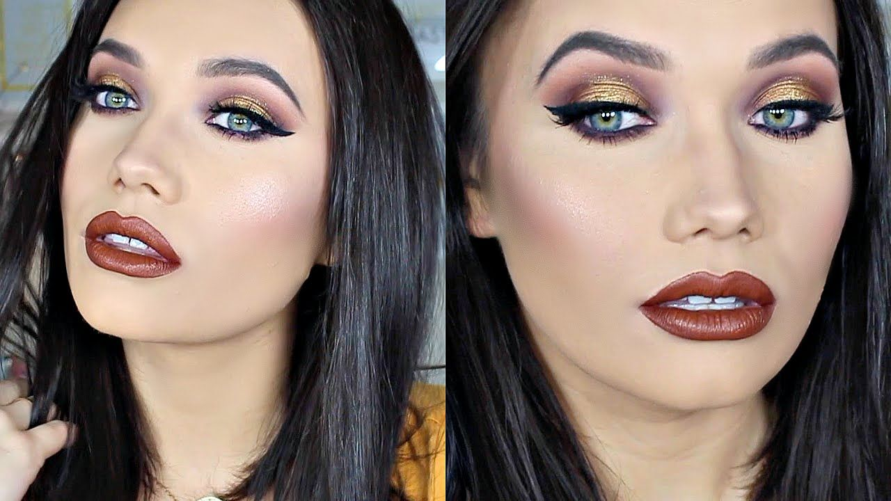 Gold Smokey Eyes | Violet Voss HOLY GRAIL Palette Makeup Tutorial