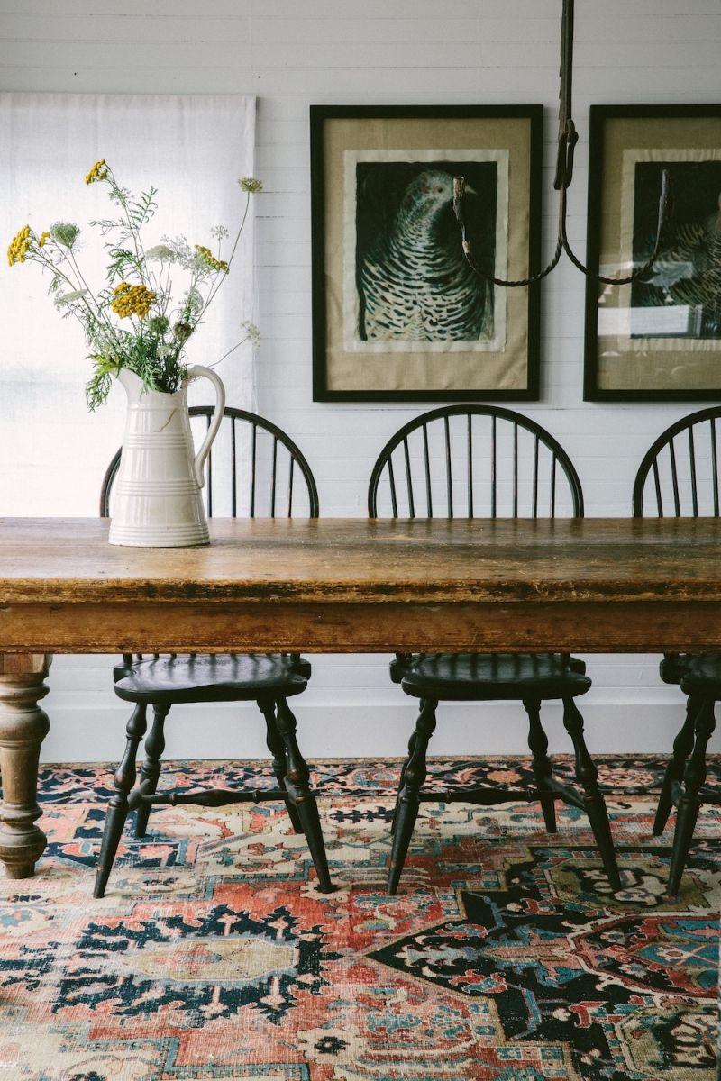 Apiece Apart Woman Sharon Mrozinski - sophisticated Farmhouse dining room -  and great clothes too! 7c9dac1e13