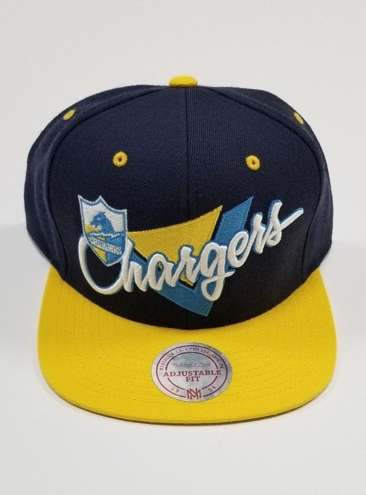 c641b4b763c San Diego Chargers Mitchell   Ness Snapback  fashion  clothing  shoes   accessories