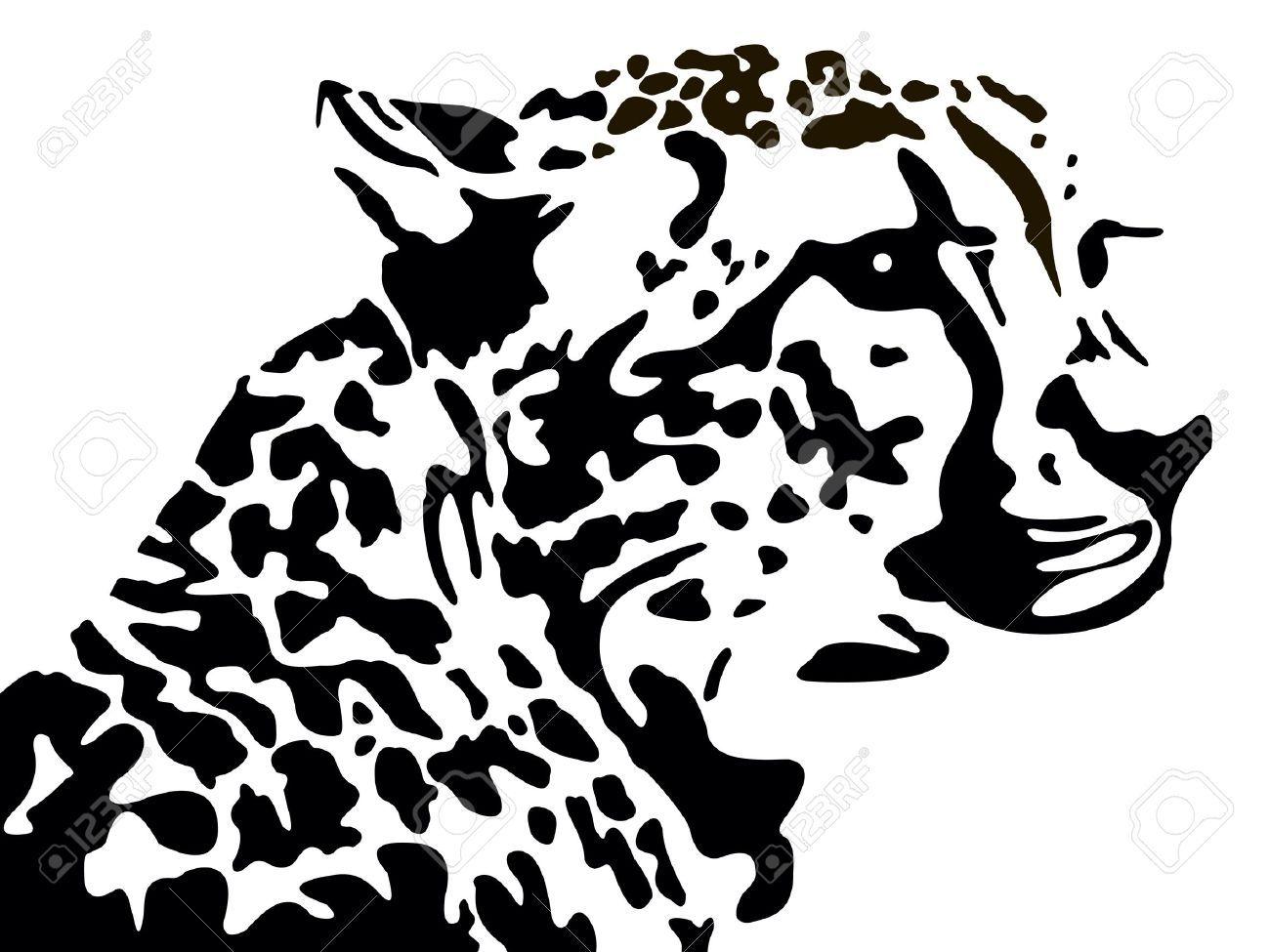 Leopard Silhouette Heads Vectors Google Search Tier Schablone Tier Silhouette Pyrographie Ideen