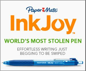 Make sure you stock up on these pens and watch out so they don't get stolen! #PaperMateBTS