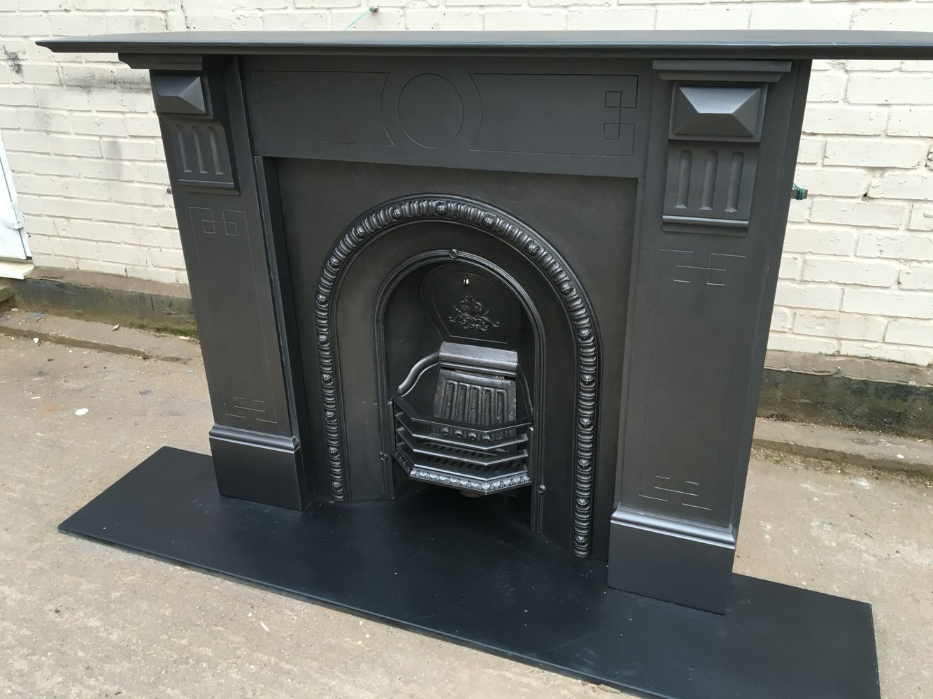 Pin By John Hanson On Holliday Slate Fireplace Fireplace